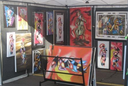 Raul rodriguez art exhibits for Art craft shows near me